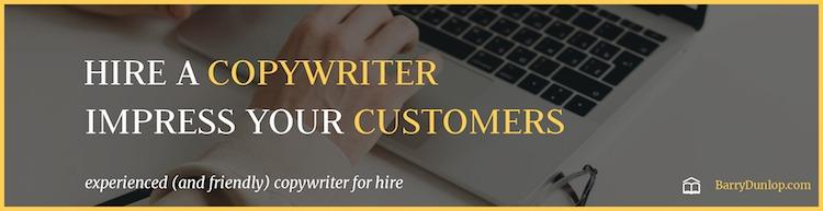 hire a copywriter